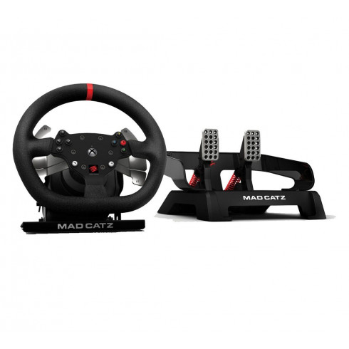 Mad Catz Pro Racing Force Feedback Wheel and Pedals for Xbox One