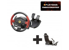 Thrustmaster T150 RS Ferrari Edition for PS3 + PS4 + PC Ready to Race bundle