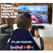 Playseat® F1 Red Bull Racing in the living room
