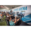 Nelson Piquet Jr. racing with Playseat® Formula E