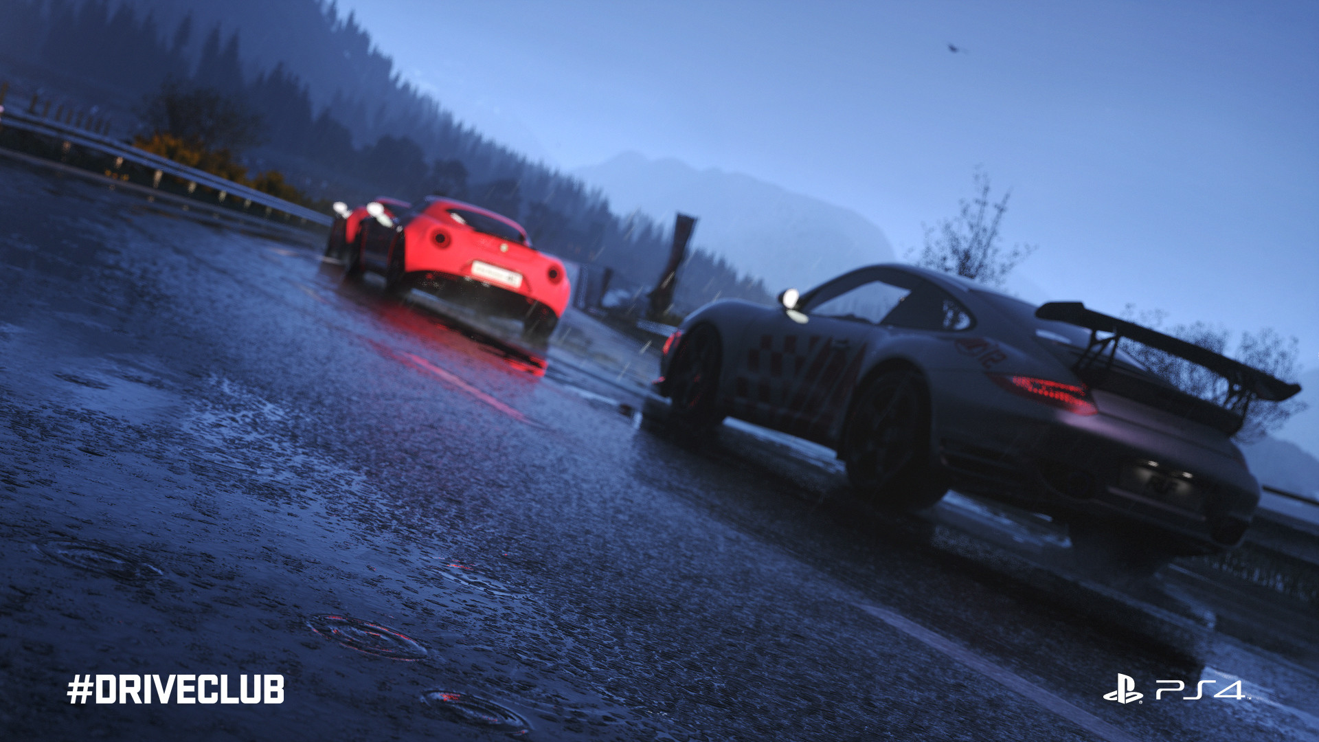 Driveclub in game