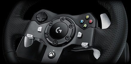 Logitech G920 for Xbox One and PC